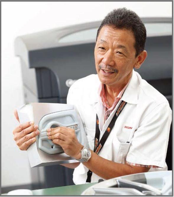 本田子公司3D打印汽车用品玩出新花样
