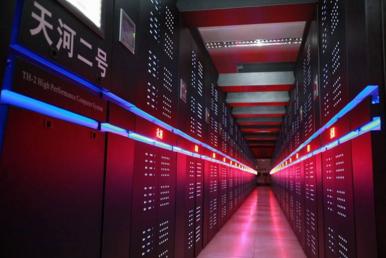 欧洲能买到顶尖处理器 最强超算性能却仅中国的2.5%