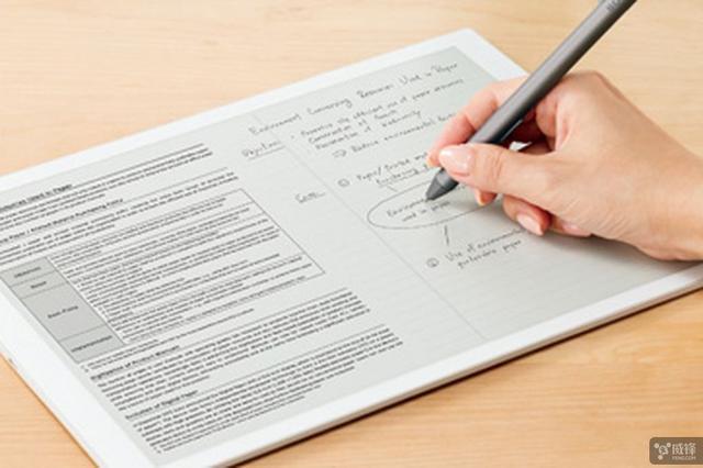 钟情于电子纸平板 索尼发布13.3英寸新品DPT-RP1