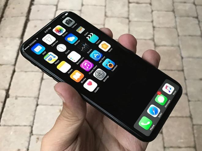iPhone 8遇最大瓶颈:在屏幕中整合Touch ID传感器