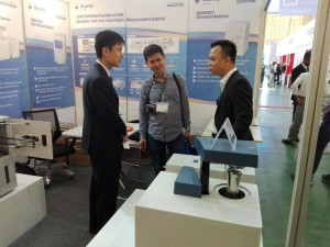 三德科技新品量热仪亮相Analytica Vietnam 2017