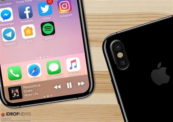 iPhone8面临光学指纹传感技术难题:会取消?