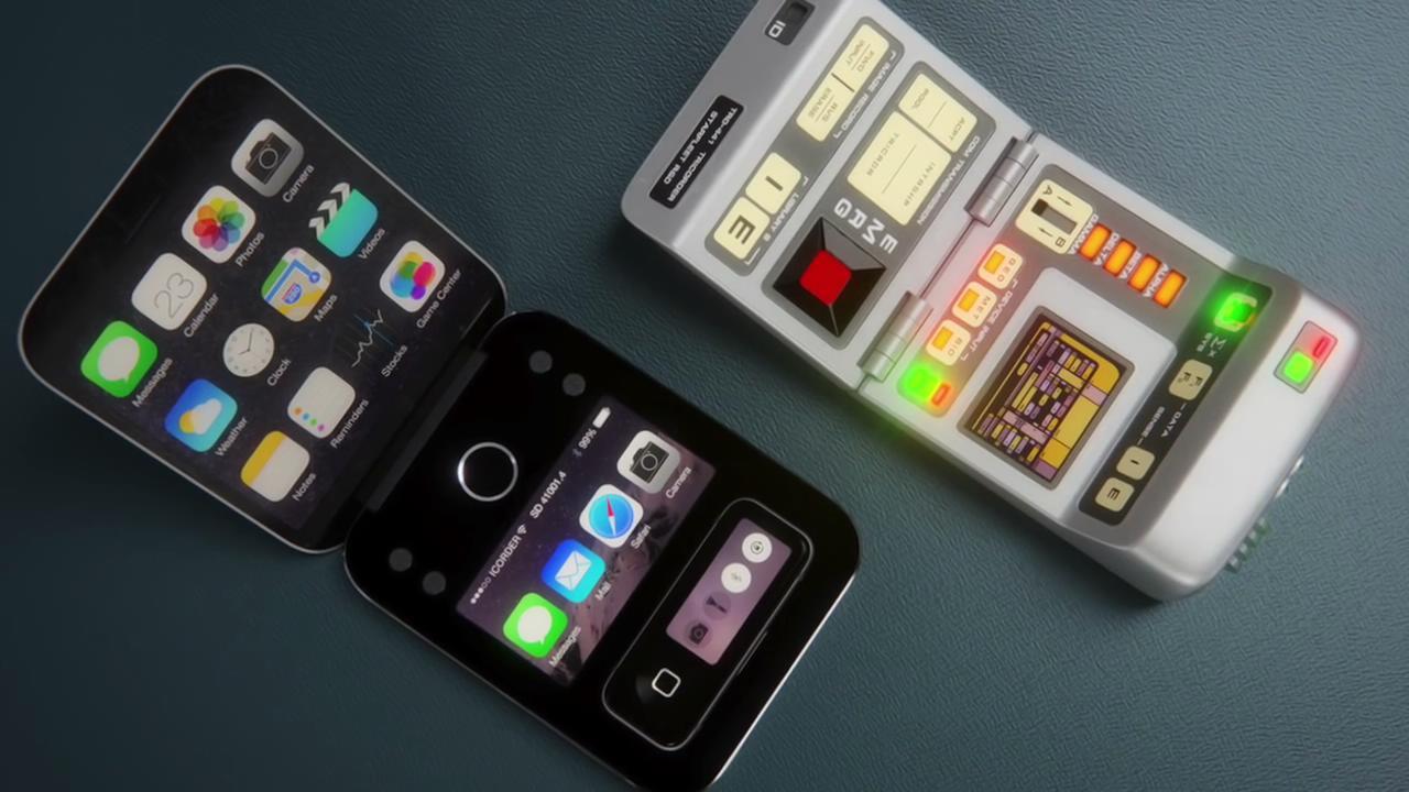 iPhone8:翻盖设计还带子母机,就算是壕也不一定能拥有
