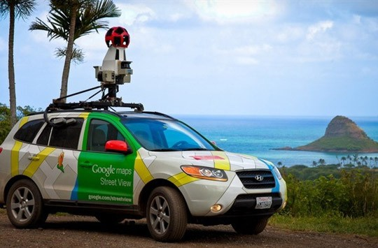 谷歌街景车装备甲烷检测仪 检测天然气管道泄漏
