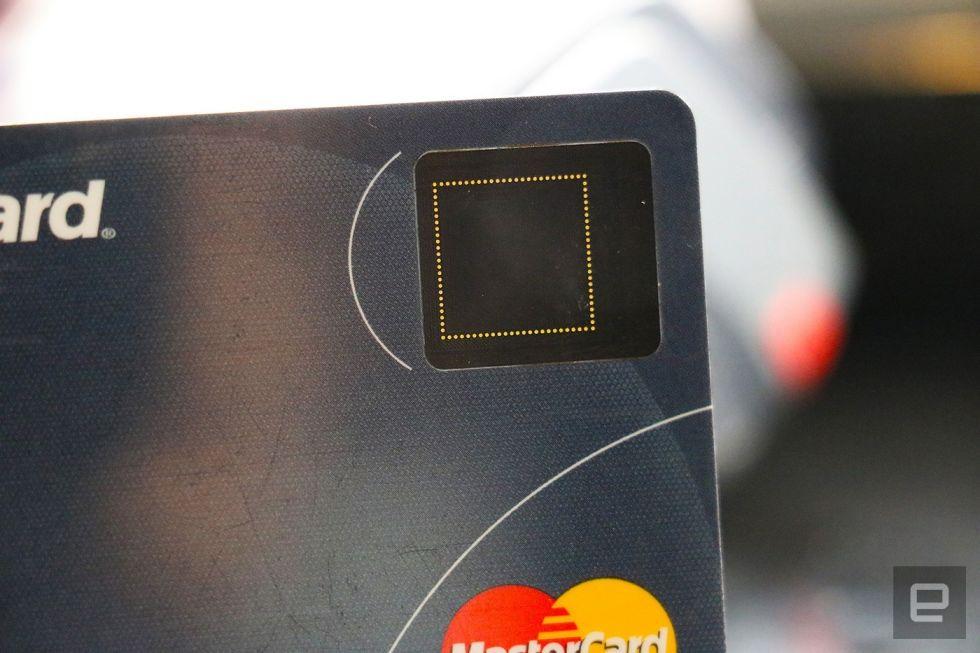 银行卡也要装指纹传感器?万事达正在测试