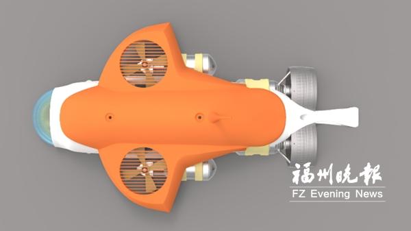 一公司研发两款300米水下机器人 填补国内空白