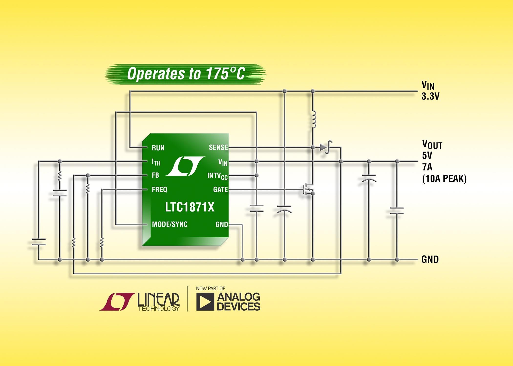 凌力尔特宽输入范围、No RSENSE电流模式升压控制器