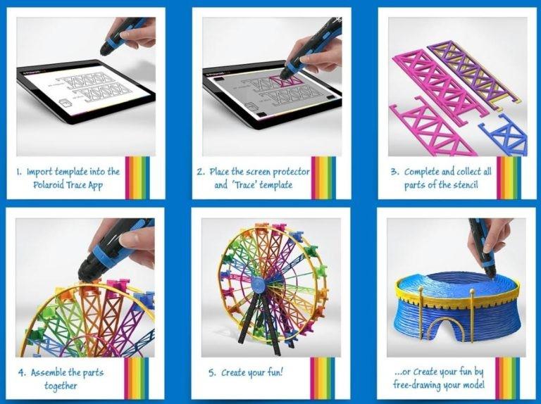 宝丽来携EBP在英国推出新的3D打印笔和3D打印材料