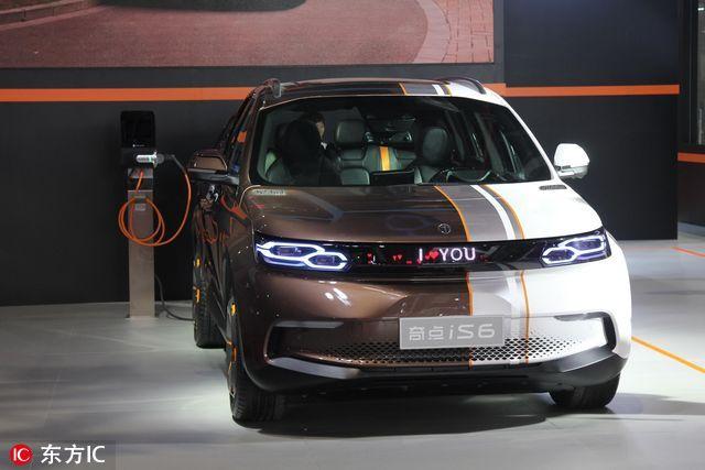 """从自动驾驶到人工智能 最新""""黑科技""""豪车悉数亮相上海"""