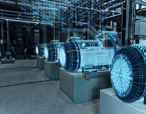 西门子新一代Simotics SD电机系列实现数字化