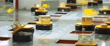 国内包裹分拣机器人采用传感技术实现定位导航
