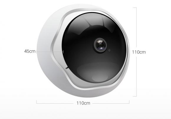 雄迈发布飞碟式全景摄像机:店铺安防战斗升级