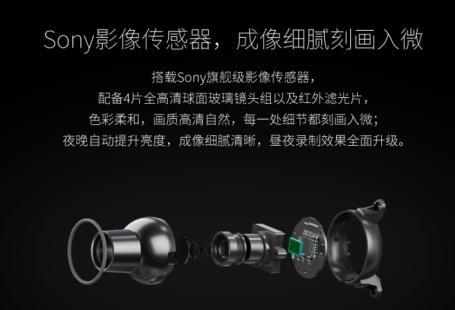 搭载Sony图像传感器 360行车记录仪双镜头版今日首发