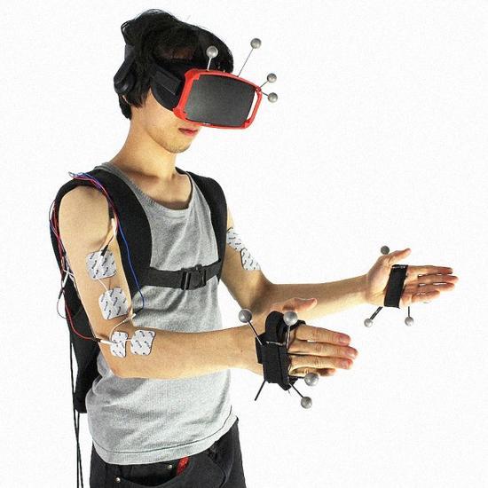 可穿戴设备能让你体验更加真实的VR感受