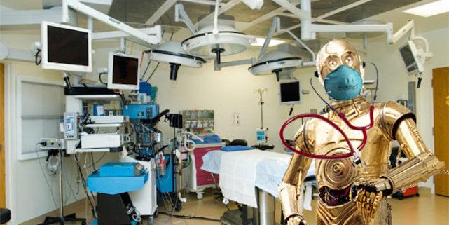 美国设计出开颅手术机器人:手速比人类医生快50倍