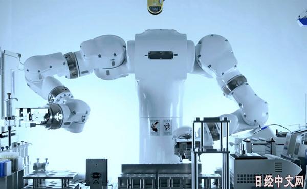 日本开始用机器人进行生命科学实验