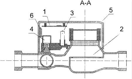 【仪表最新专利】触摸式高频M1卡智能水表