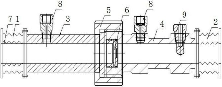 【仪表最新专利】一种便于拆装的流量计