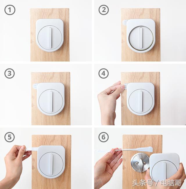 智能门锁可帮你解决出门没带钥匙的烦恼