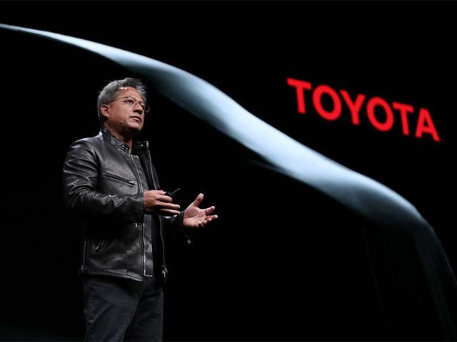 英伟达联合丰田开发可量产自动驾驶系统