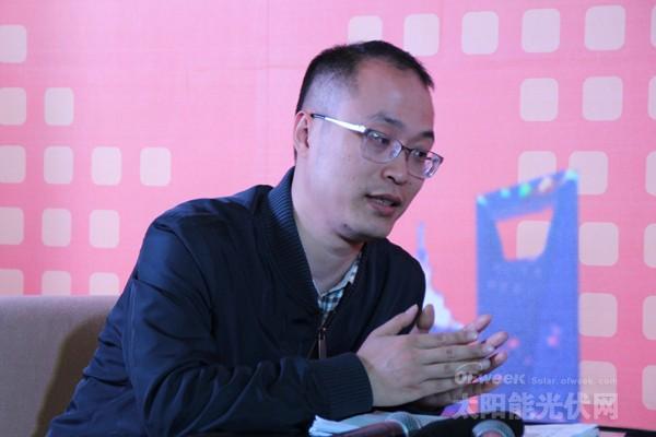 江苏峰谷源储能技术研究院有限公司副总经理陈强:分布式光伏是大势所趋