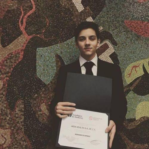 墨西哥18岁小哥发明追踪乳腺癌胸罩