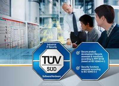 西门子过程控制系统获得世界首张IEC 62443认证证书