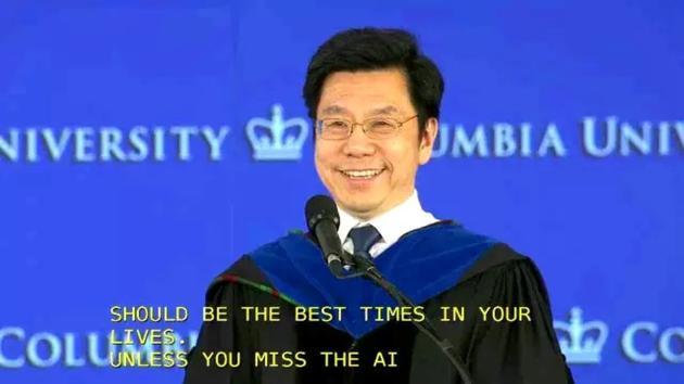 李开复哥大毕业演讲:工程师的AI银河系漫游指南