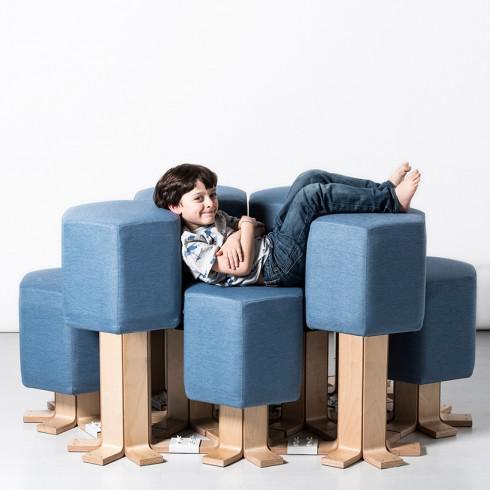 沙发也做成智能家居:随心所欲可改变形状