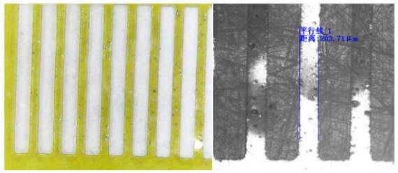 皮秒光纤激光器 FPC覆盖膜切割工艺研究