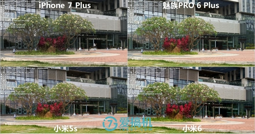 实拍出真相!小米6/5s/华为P10/魅族PRO 6 Plus拍照对比评测