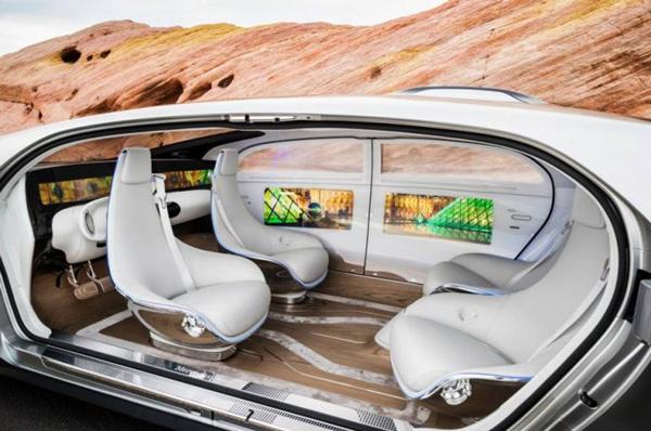 对无人驾驶、共享汽车和智能交通信息网络的发展的设想
