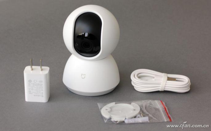 米家智能摄像机云台版体验:199元的看家助手!