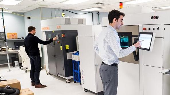 球最大学术3D打印中心落户加拿大滑铁卢大学