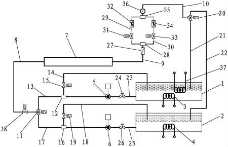 仪表新专利:一种热量表耐久性试验装置