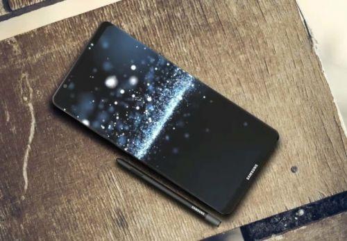 三星Note8采用嵌入式指纹传感器