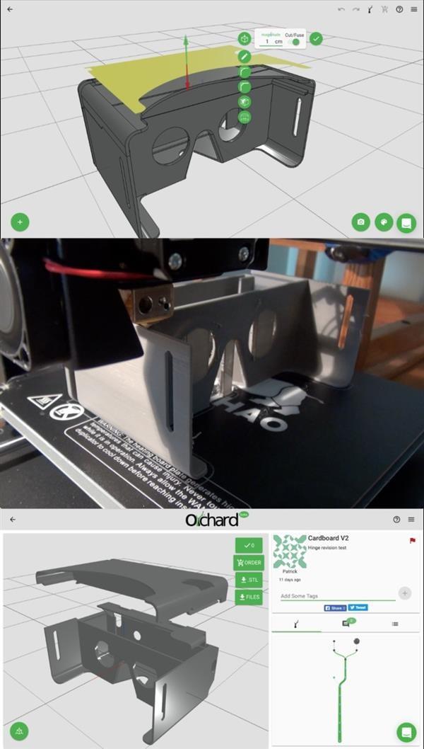 在线众包平台Orchard允许用户分享、编辑开源3D打印模型