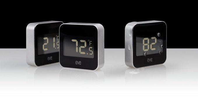 Elgato推HomeKit设备Eve Degree传感器