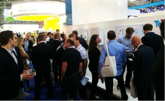天合储能TrinaHome户用S & T亮相 Intersolar Europe 2017展 受到客户广泛关注