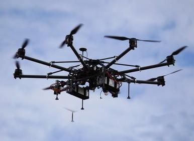 武汉首次使用无人机进行锅炉压力容器检测