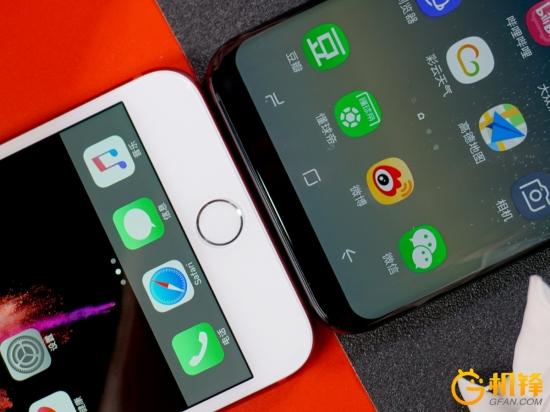 彼此进步的动力 iPhone 7Plus和三星S8+对比评测:孰优孰劣?