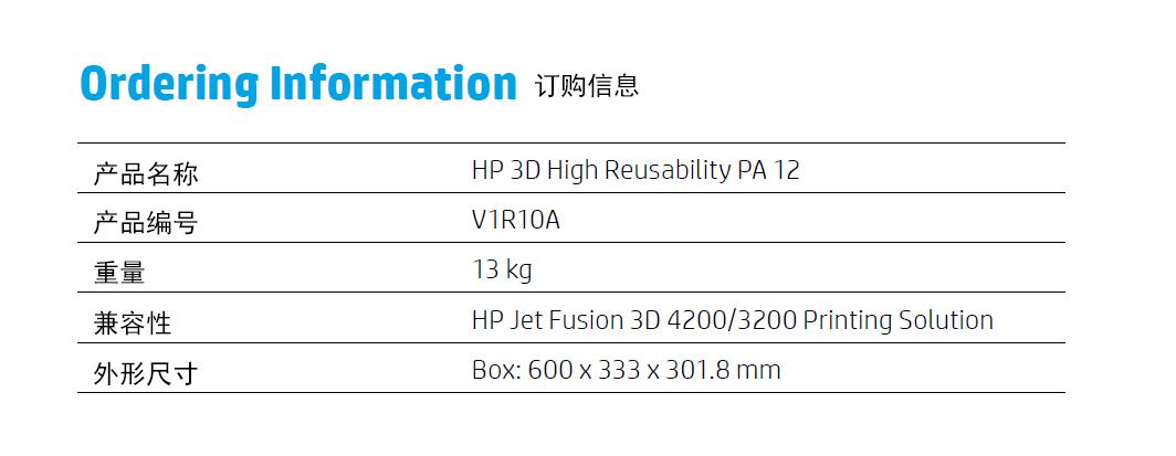 惠普快速3D打印机Jet Fusion 4200中国区开始正式接受预订,新品发布进入倒计时阶段
