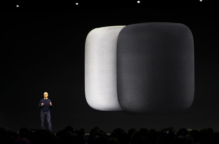 苹果CEO库克:我们花费4年时间为您重设家庭音响