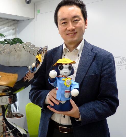 日本企业开发出可自动拍照筛选照片的监护机器人