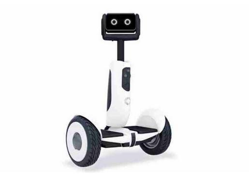 它是在segway底盘上打造的轮式自动机器人.