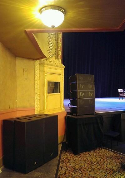 明尼阿波利斯历史悠久的Orpheum剧院利用EV升级音响设备