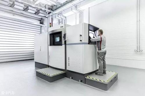 实拍德国奥迪工厂的智能制造过程,各种黑科技!