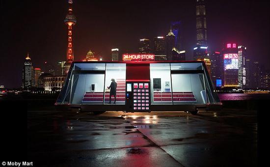 未来照进现实?无人可移动便利店现身中国