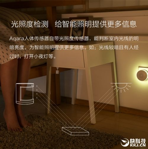 小米生态链绿米推人体传感器:2年无需换电池