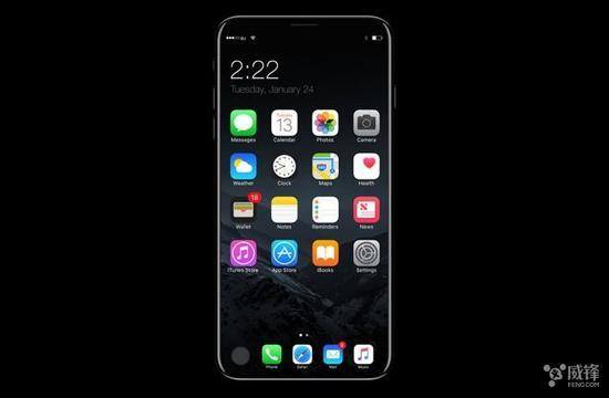 """iPhone 8""指纹传感器怎样弄?还没决定呢"